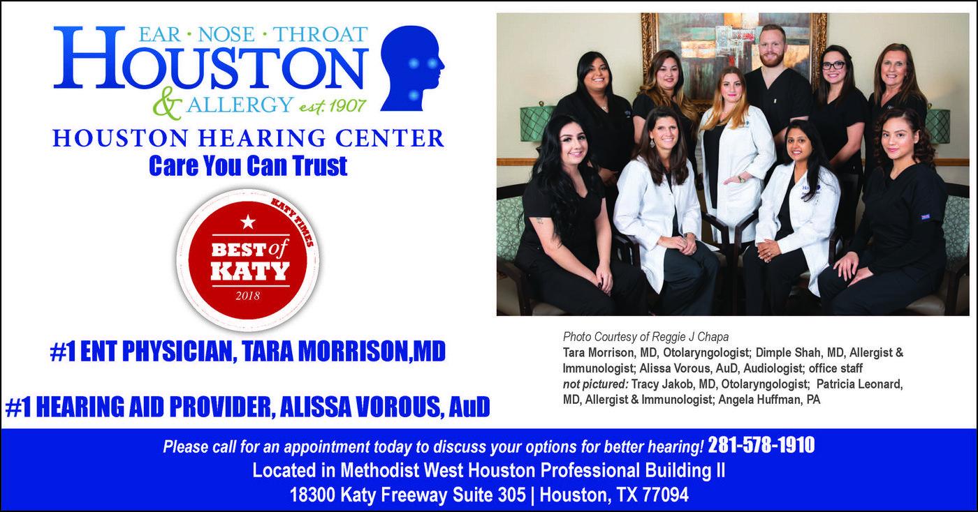 Houston ENT Houston Hearing Center Katy Texas