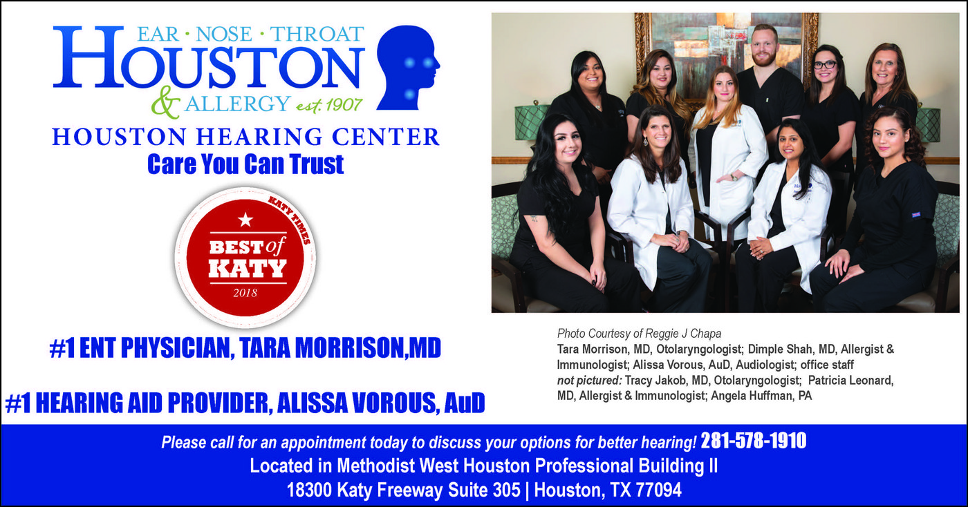 Houston ENT Houston Hearing Center Katy Texas