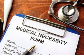 medical necessity insurance coverage houston ent