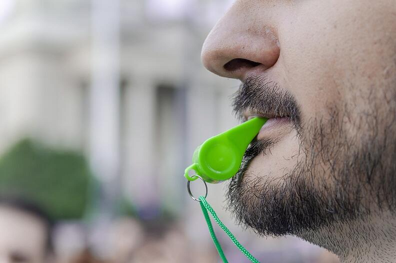 does your nose whistle when you breath
